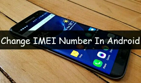 How to change IMEI in any android