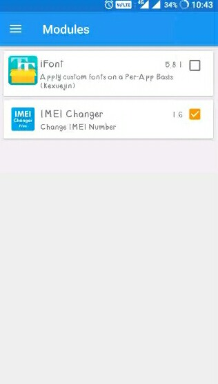 IMEI Changer App modules